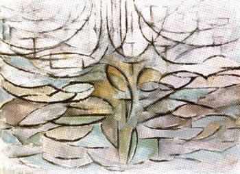 Apple Tree in Flower (1912)