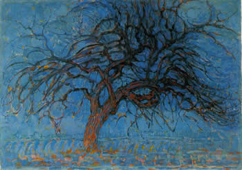 Avond (Evening) - Red Tree (1908)