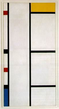 Composition No.3 with White and Yellow (1942)