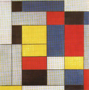 Composition with Grey, Red, Yellow and Blue (1926)