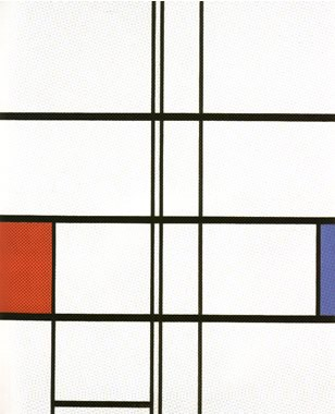 Composition with Red and Blue (1936)