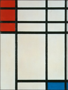 Composition with Red and Blue (1941)