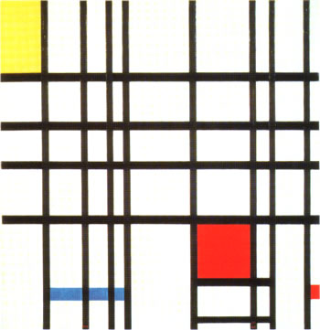 Composition with Red, Yellow and Blue (1937)