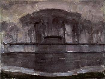 Geinrust Farm in the Mist (1907)