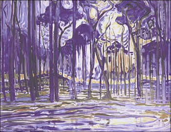 Woods near Oele (1908)