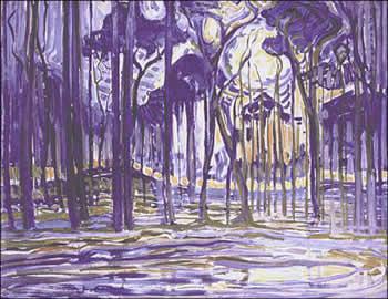 Woods near Oele (1908)
